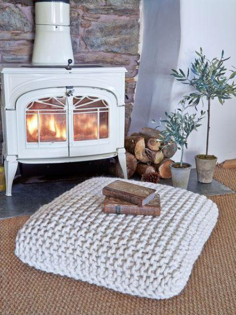 Wood Stove Living Room Design: Wood Stoves And Inserts Offering Efficient Heating And