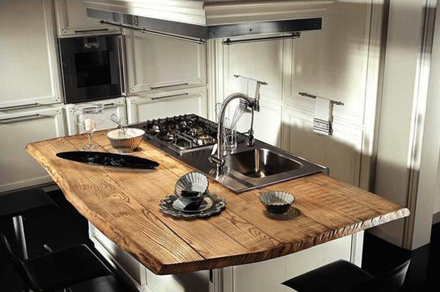 Amazing Wood Kitchen Countertop Ideas Adding Exotic Look ...