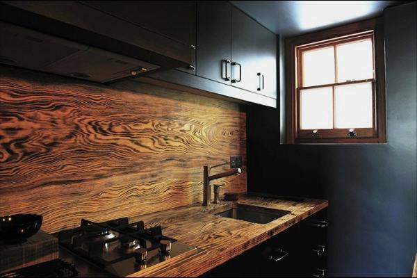wonderful unique kitchen countertops | Amazing Wood Kitchen Countertop Ideas Adding Exotic Look ...