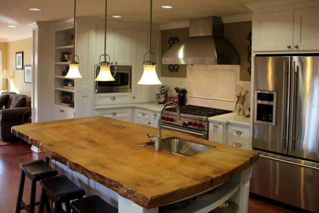 Amazing Wood Kitchen Countertop Ideas Adding Exotic Look To Modern Interiors