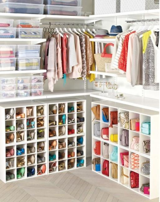 Exceptionnel Small Spaces And Closet Organization