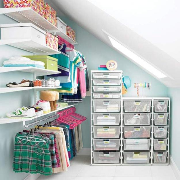 30 Smart Storage Ideas To Improve Closet Organization And Maximize Small Es