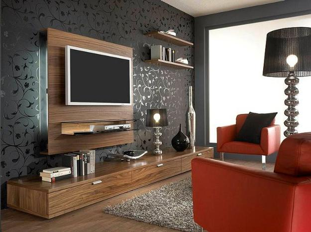 Modern Living Room Furniture And Tv Placement
