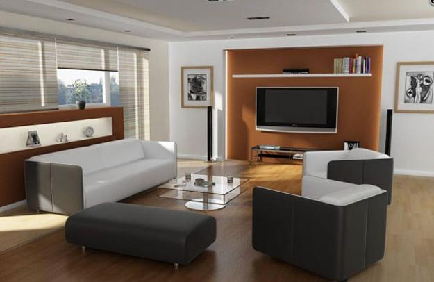 16 Functional Small Living Room Design Ideas: TV And Furniture Placement Ideas For Functional And Modern