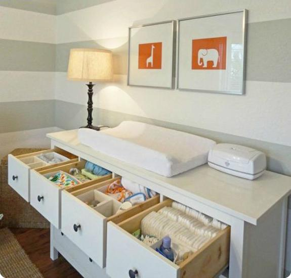 25 Attractive Storage Ideas For Beautiful Baby Room Decor