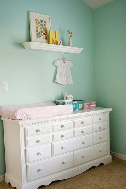 Storage Ideas For Beautiful Baby Room Decor