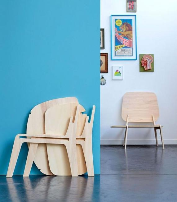 space saving plywood furniture design for small spaces