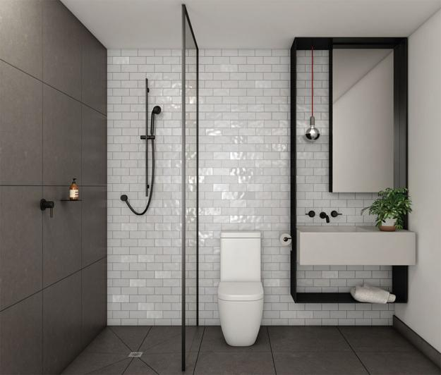 22 small bathroom remodeling ideas reflecting elegantly simple latest trends - Pictures of bathroom designs ...