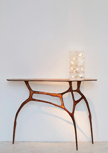 sculptured home furnishings bringing art into modern interior decorating