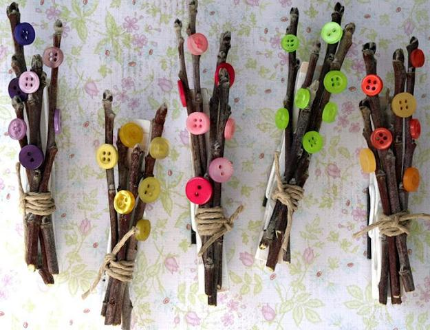 creative ideas to make decorations with wood clothespins