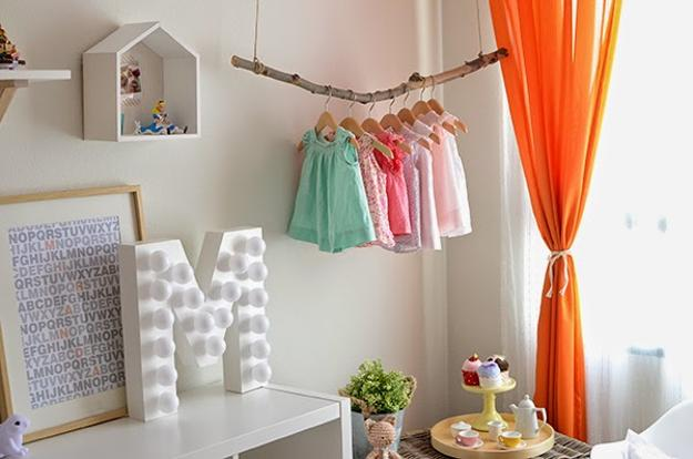 Girls Bedroom Decorating With Bright Orange Color Accents And New Toddler Girl Bedroom Decorating Ideas