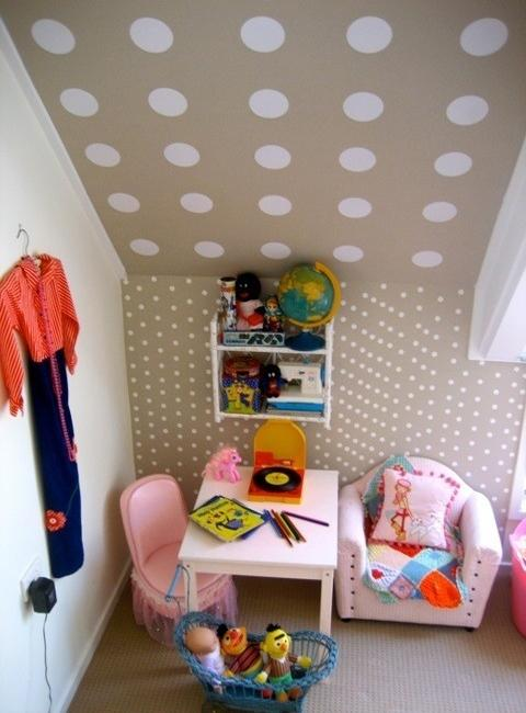 Creative Ways To Use Modern Polka Dots In Decorating Kids