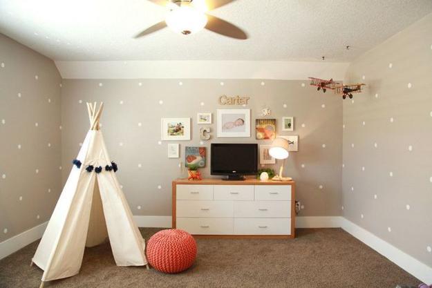 Modern Interior Design Trends Reinventing Polka Dots For