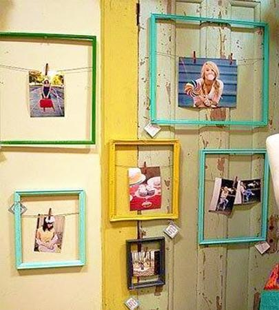 How to Decorate with Pegs, Clothespins, Metal Clips, Fabulous Accent ...
