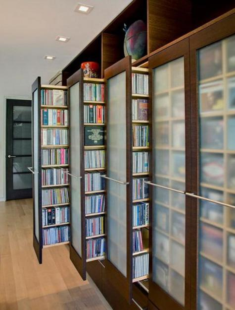 Contemporary Bookcases, Space Saving Storage Ideas