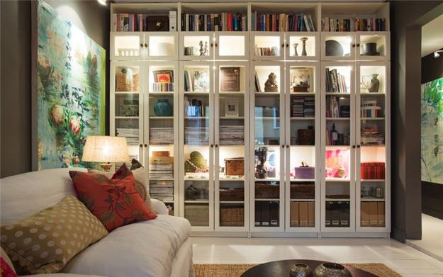 Home Design Ideas Pictures: 15 Home Library Design Ideas Creating Spectacular Accent Walls