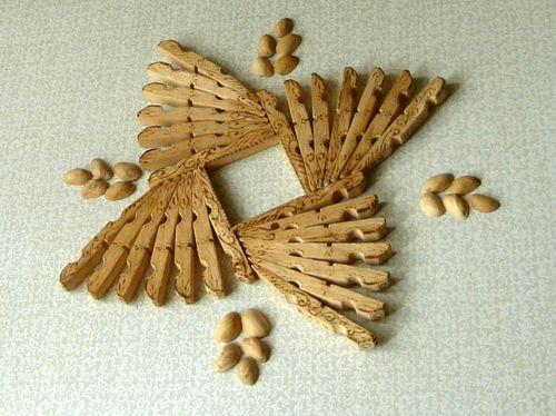 30 Art and Craft Ideas to Use Wooden Clothespins for Home ...