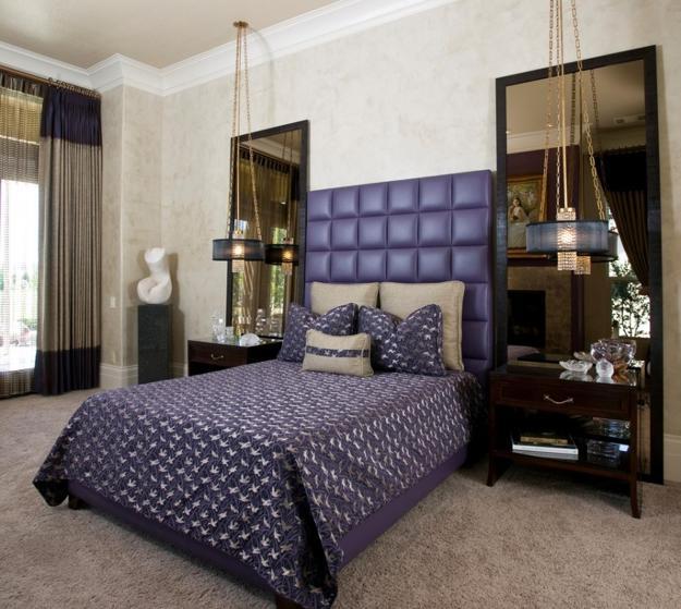 33 Glamorous Bedroom Design Ideas: Glamorous Mirrors Bringing Chic Into Modern Bedroom Designs