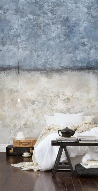 Creative Half Wall Painting Ideas For Modern Bedroom Decorating
