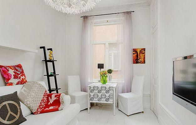 6 Red Color Schemes Accentuating Gray And White Decorating Ideas