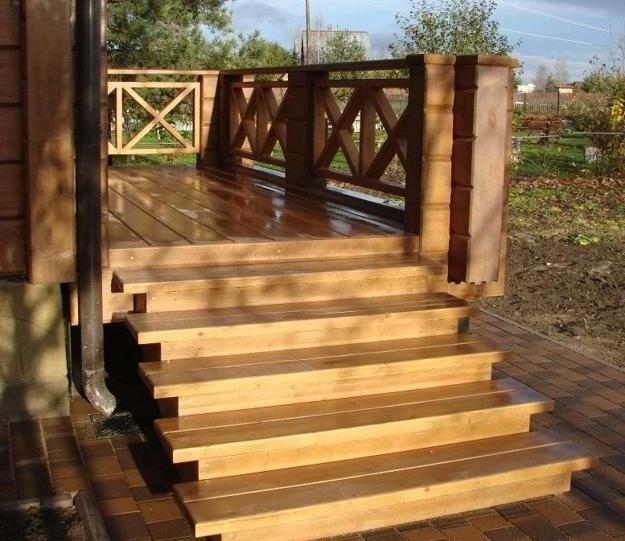 Outdoor Wooden Stairs Giving Unique, Warm Look to Modern ... on Backyard Stairs Ideas id=30657