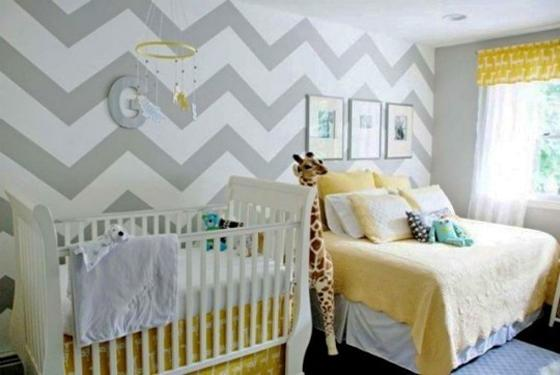Latest Trends Bringing Geometric Shapes And Patterns Into Baby Boys Bedrooms