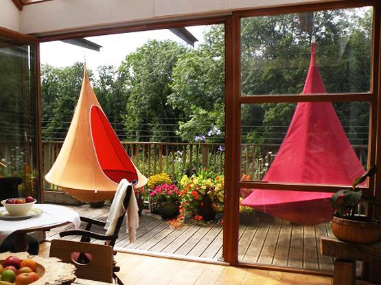 Hanging Hammock Chairs Adding Camping Fun To Modern