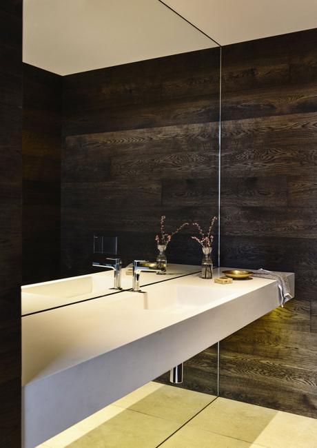 Floor To Ceiling Mirror Wall, Modern Bathroom Design By Steve Domoney  Architecture, Australia