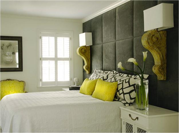 Green Bedroom Colors Interior Design on Yellow Bathroom Color Scheme