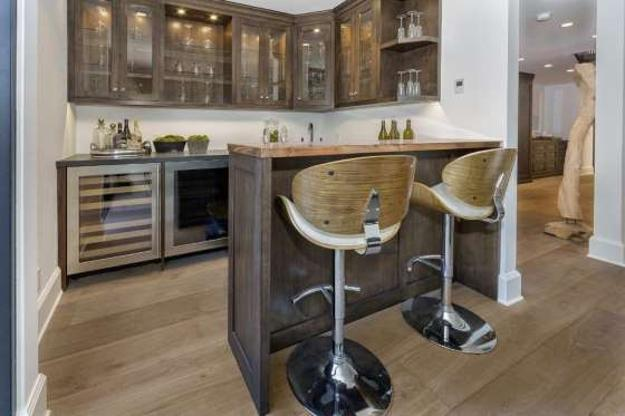 Peninsula Kitchen Designs With Integrated High Seating