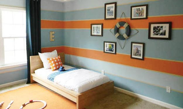 Peach Orange and Blue Color Schemes for Interior Design ...