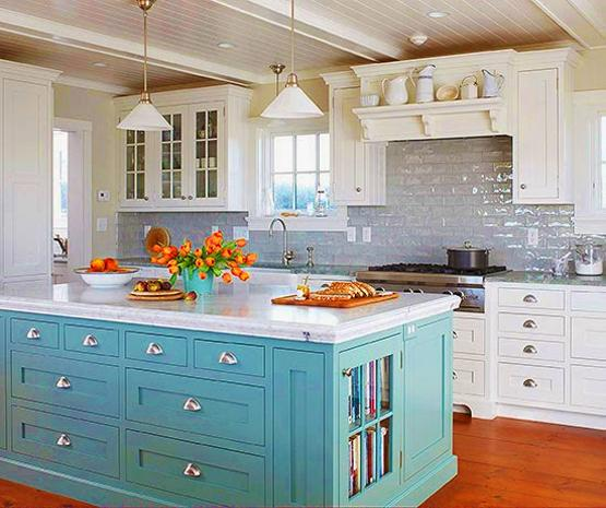 Kitchen Colors Color Schemes And Designs: Peach Orange And Blue Color Schemes For Interior Design