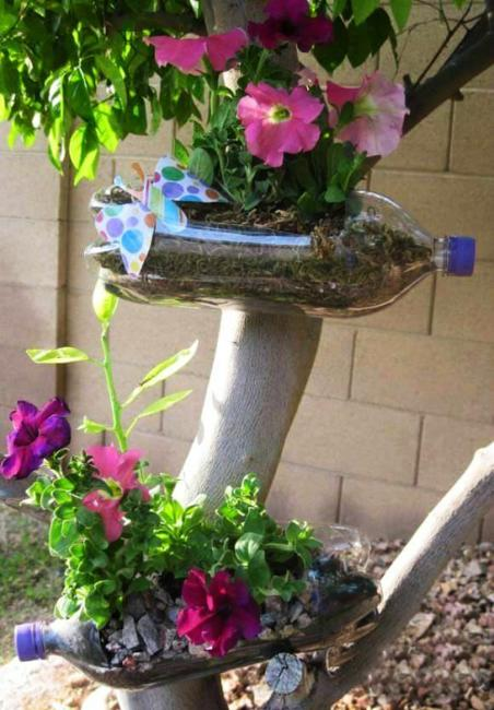 10 Fabulous Ideas To Reuse And Recycle Plastic Bottles And