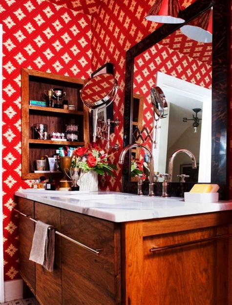 Nature Inspired Red Color Schemes Adding Bright Accents To