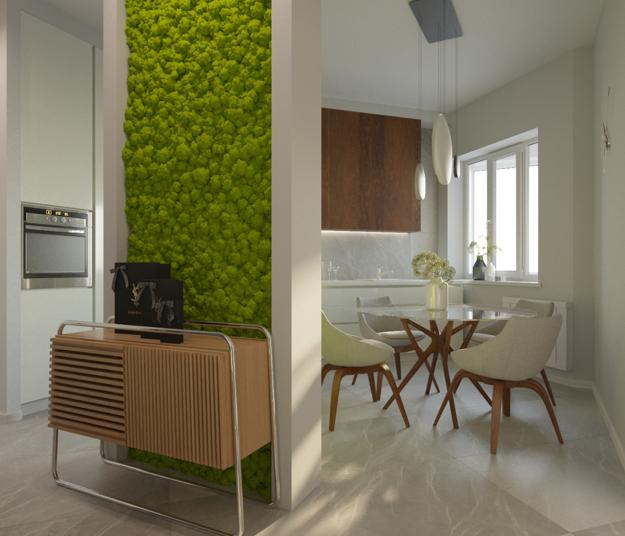 Neutrals Lose To Green Colors Modern Interior Color: Natural Green Color Schemes With Neutral Tones For Modern