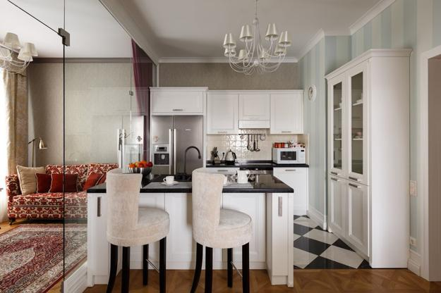 Swell Modern Kitchen Islands With High Countertops And Bar Chairs Machost Co Dining Chair Design Ideas Machostcouk