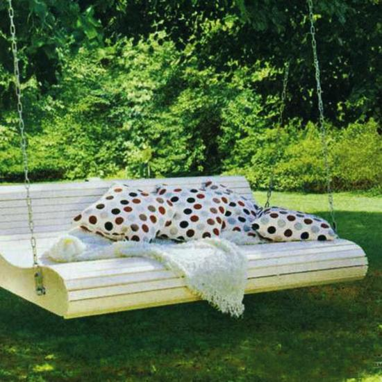 Playful Garden Furniture Swings Adding Fun To Backyard