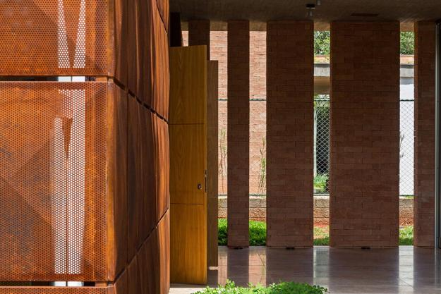 Wood Facade Pattern
