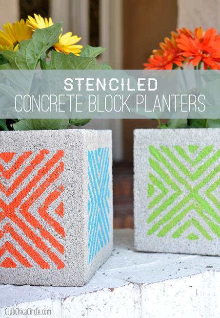 Diy Patio Furniture Easy Cinder Blocks