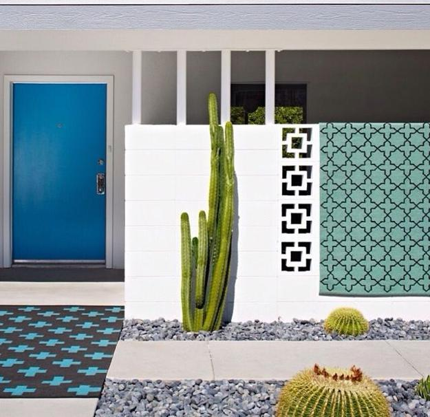 Geometric Patterns Of Screen Blocks Beautifully Decorating