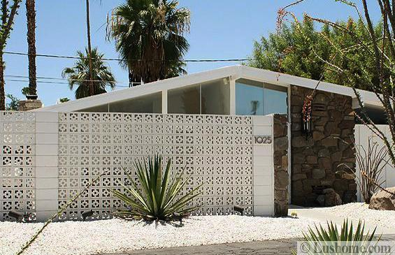 Geometric Patterns Screen Blocks Beautifully Decorating Mid Century Modern Homes