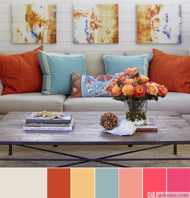 Yellow Room Color Palettes: 8 Modern Color Trends 2018, Ideas For Creating Vibrant