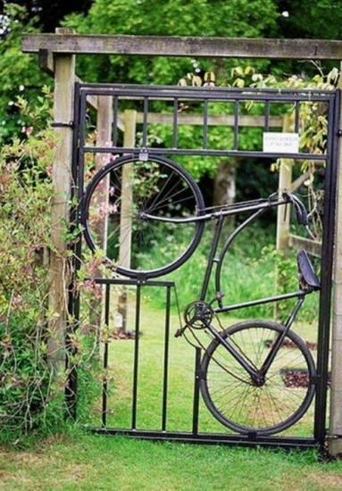 Surprising Recycling Ideas For Old Bicycles Turning Into
