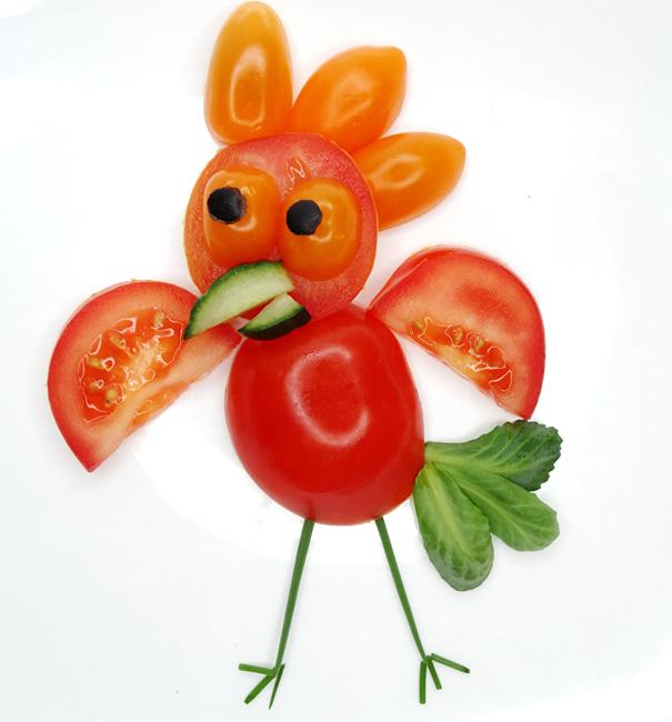 Food Design Ideas: Symbolic Food Design Ideas Inspired By The Rooster Sign
