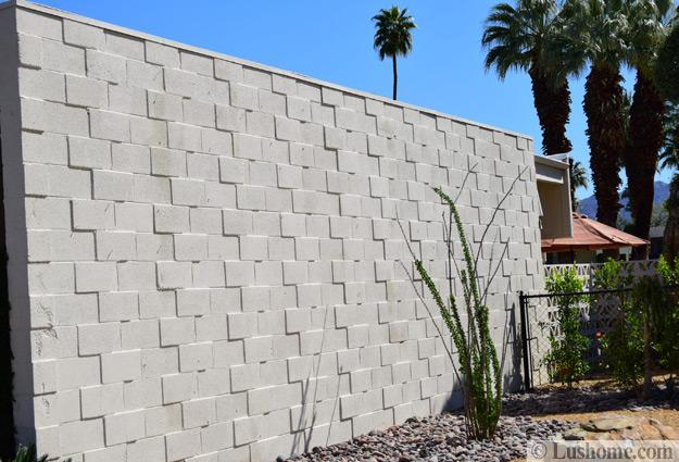 Mid Century Modern Block Wall Designs Showing Off