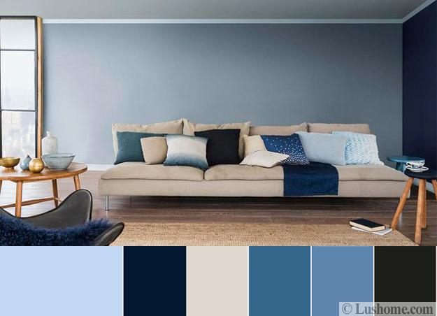 Blue Color Schemes For Interior Design Inspiring