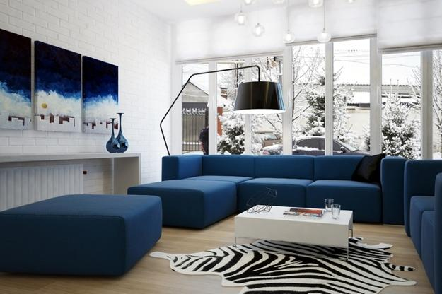Blue Color Schemes For Interior Design, Inspiring