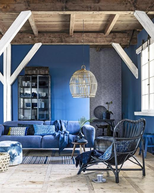 Blue Color Schemes For Interior Design, Inspiring Turquoise Color Palette
