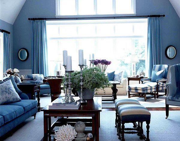 Blue Color Schemes For Interior Design Inspiring Turquoise Color