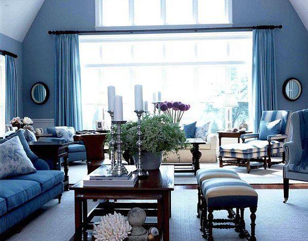 Blue Color Schemes For Interior Design Inspiring